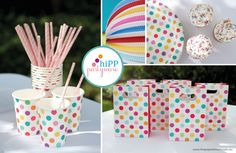 Up Up and Away...Celebrate with a Hot Air Balloon Birthday! From The Paper Lantern