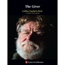 LitPlan Teacher Pack For The Giver--Complete unit of study; open and teach. Includes study questions, vocabulary, daily lessons with assignments & activities, unit tests, writing assignments, review materials...everything you need.