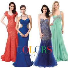 So many amazing styles to chooose from!! Colors Dress #prom #prom2015