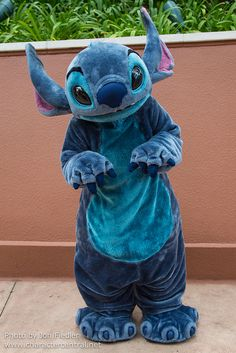 When I met Stitch at Disney World, I told him that he was my favorite Disney character, and he was so nice. He hugged my about five times.