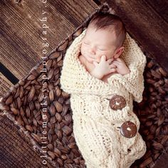 Love these sweater blankets.  Mom or Grandmother make one?
