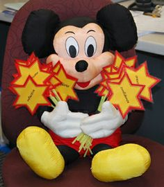 Mickey Mouse brings the Learner Profile and Attitudes to class