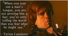 Tyrion Lannister. Game of Thrones