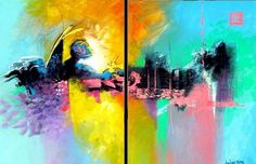 Chile, Painting, Art, Art Background, Painting Art, Kunst, Paintings, Performing Arts, Painted Canvas