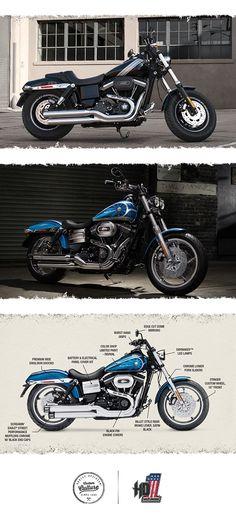 It's power with agility.   2016 Harley-Davidson Fat Bob
