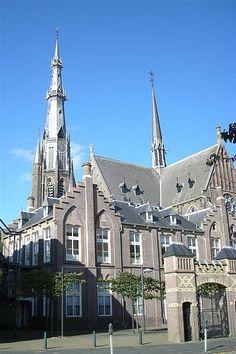 Sint Bonifatiuskerk (St. Boniface) Church in Leeuwarden, Friesland.