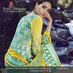Grab the Traditional Look with this pashmina print suits. #DesignerWear #Ethnic #Elegance #Roopshringar