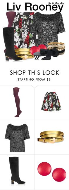 """""""Liv & Maddie"""" by wearwhatyouwatch ❤ liked on Polyvore featuring Dorothy Perkins, Dolce&Gabbana, Oasis, Lanvin, Charles Jourdan, Aéropostale, television and wearwhatyouwatch"""