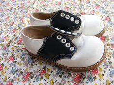 cute vintage saddle shoes
