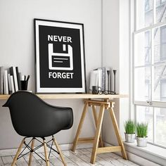 Printable Never Forget Funny Art For Computer Geeks by TalkingPictures on Etsy