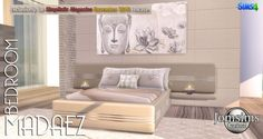 Madaez bedroom at Jomsims Creations • Sims 4 Updates