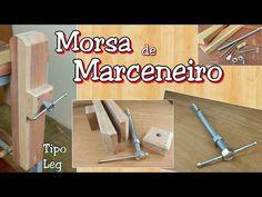 Sargento de Madeira com Barra Roscada #1 • Grampo Marcenaria • Como Fiz - YouTube                                                                                                                                                     More