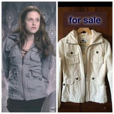 BB Dakota cargo utility jacket (Bella in Twilight) 🎉Bella jacket by B.B. Dakota  •Junior size Small •Color: ivory •See last photo for sizing, design details, length, and fabric content.  •Nicely designed jacket with great details and comfy! You will love! •No flaws. NWT. 🎉👑🌼 BB Dakota Jackets & Coats
