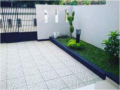 Gambar konsep taman depan rumah minimalis sederhana modern lahan sempit terbaru