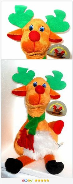 Rudolph the Red Nosed Reindeer decoration plush USA Seller Christmas I #ebay http://stores.ebay.com/JEWELRY-AND-GIFTS-BY-ALICE-AND-ANN