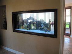 Fish tank wall