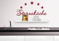 Wandtattoo Sterneküche inkl. Bilderleiste von wall-art.de