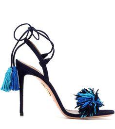 mytheresa.com - Wild Thing 105 Suede Sandals ► Aquazzura - mytheresa - Luxury Fashion for Women / Designer clothing, shoes, bags