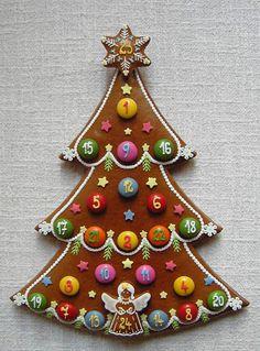 Christmas Sweets, Christmas Baking, Christmas Home, Xmas, Christmas Ornaments, Iced Cookies, Holiday Cookies, Cake Cookies, Christmas Calendar