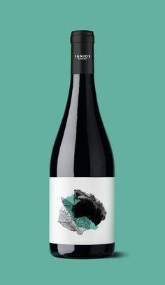 Ignios Orígenes_Listán Negro // identity & packaging // www.dailosperez.com #taninotanino #vinosmaximum