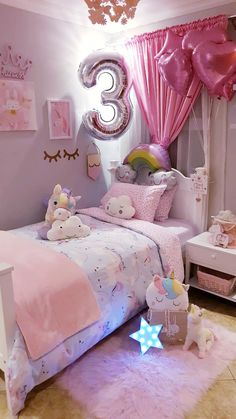 Bring the Warmth of the Italian Countryside Into Your Home With Easy Tuscan Kitchen Decor Ideas Cute Bedroom Ideas, Cute Room Decor, Girl Bedroom Designs, Baby Room Decor, Little Girl Bedrooms, Girls Bedroom, Girl Room, Pink Bedroom Decor, Toddler Rooms