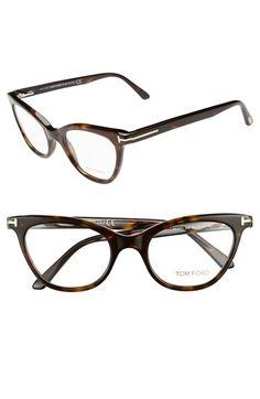 Tom Ford 49mm Cat Eye Optical Glasses (Online Only) | Nordstrom