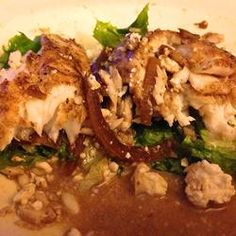 Balsamic Baked Tilapia..except I don't eat Tilapia, I'll try a different type of fish.