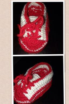 Tênis Bebe vermelho