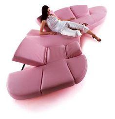 Flap Sofa; Edra