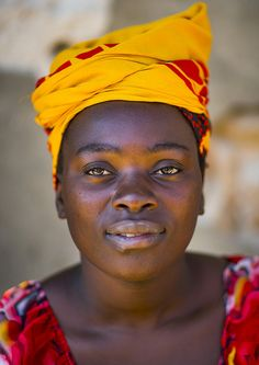 Portrait Of A Woman, Island Of Mozambique, Mozambique | Flickr - Photo Sharing! | © Eric Lafforgue