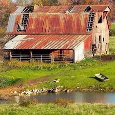These old barns may look a little rough on the outside but I am sure if you talk to the right people they'd have a great story!!