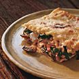 Swiss Chard Lasagna with Ricotta and Mushroom - best lasagna i have ever made!  very time consuming, but worth it!