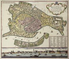 Johann Baptist Homann - Venice 1729   #TuscanyAgriturismoGiratola