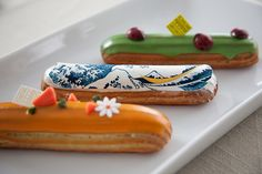 eclairs / takashimaya. the pinnacle of what i love and appreciate in a dept store!