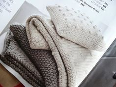 ...yarnroundhook...: Aran knits and crocheted cables