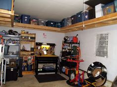Suspended Garage Shelves From The Garage Journal Board