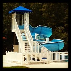 photo by april_zimmerman: New slide at Caledonia