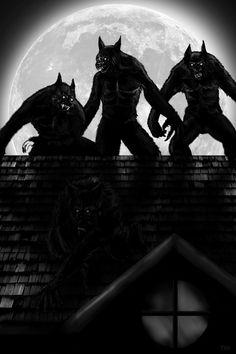 Werewolves by tlmolly86 on DeviantArt