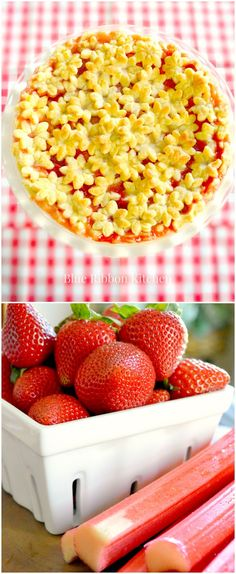 Blue Ribbon Kitchen: Garden Party Strawberry Rhubarb Pie Strawberry Rhubarb Pie, Dessert Recipes, Desserts, Blue Ribbon, Breakfast, Garden, Kitchen, Party, Blog