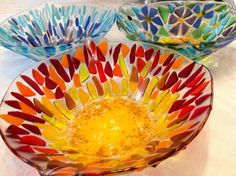 Love this glass bowl!