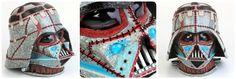 Frankenvader by Denise Vasquez  1st Place Winner Darth Vader Helmet Contest