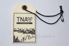 Hang tags, as garment accessory, mostly hang or sewn on clothes or products, such as a back collar, cuff, waist of trousers or buttonholes, etc. Generally, hang tags are made by paper, plastic, metal, etc. Hanging on the products by string, rope and metal chain, etc. On the hang tags, there are printed a brief description and design of the products.