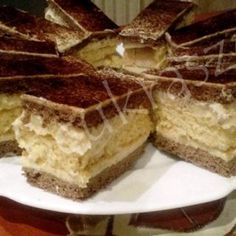 Oreo torta Hungarian Cookies, Hungarian Desserts, Ombre Cake, Tiramisu, Oreo, Cheesecake, Ethnic Recipes, Food, Traditional