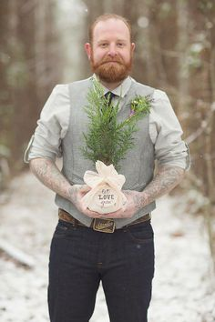 we have always loved the idea of giving saplings as a wedding favor, they grow as well as our love and marriage.