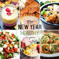 25+ Healthy Recipes for the New Year Good Healthy Recipes, Healthy Breakfast Recipes, Lunch Recipes, Healthy Snacks, Healthy Eating, Delicious Recipes, Breakfast Ideas, Healthy Choices, Milk Recipes
