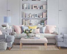 Welche Farbe Passt Zu Braun, Raumdesign Mit Pastellfarben Ausstatten, Ideen  Sofa, Kissen,