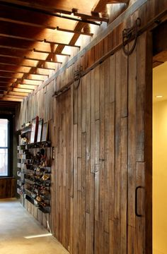 another sliding barn door