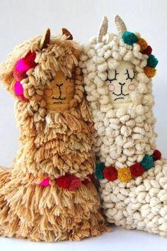 Crochet Alpaca Plush