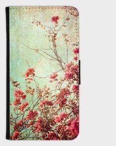 Smartphone Flip Case  Vintage Rose  von Heavensblue4711 auf DaWanda.com