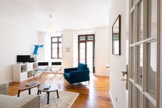 Apartment in Lisboa, Portugal. This brand new, comfortable and light-filled apartment is located right in the center of Lisbon, in one of the most prestigious and traditional neighborhoods in Lisbon - São Bento. From the apartment you can see the Portuguese Parliament, the stag...
